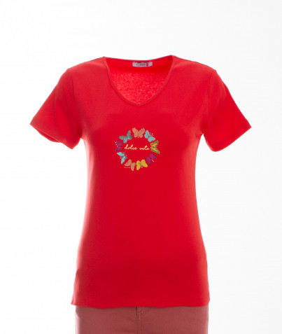 T-Shirt 100% Coton Dolce Vita 3 Coloris
