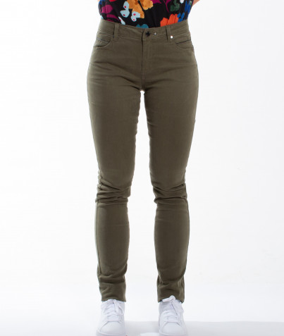 Pantalon Slim Ocre ou Kaki