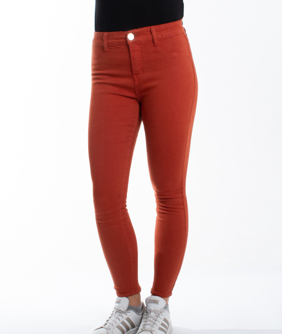 Pantalon Slim 7/8ème Galon Fantaisie