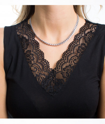 Collier Maille Anglaise 2 Coloris