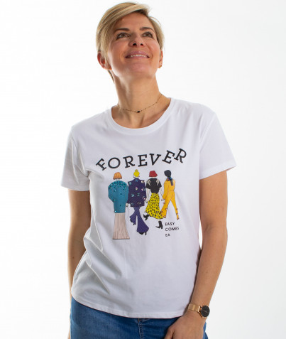 T-shirt Forever 2 coloris