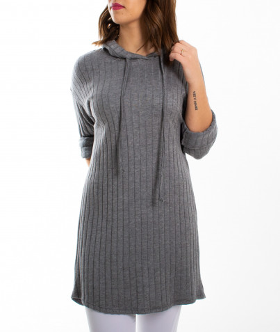 Robe Cotte Grise