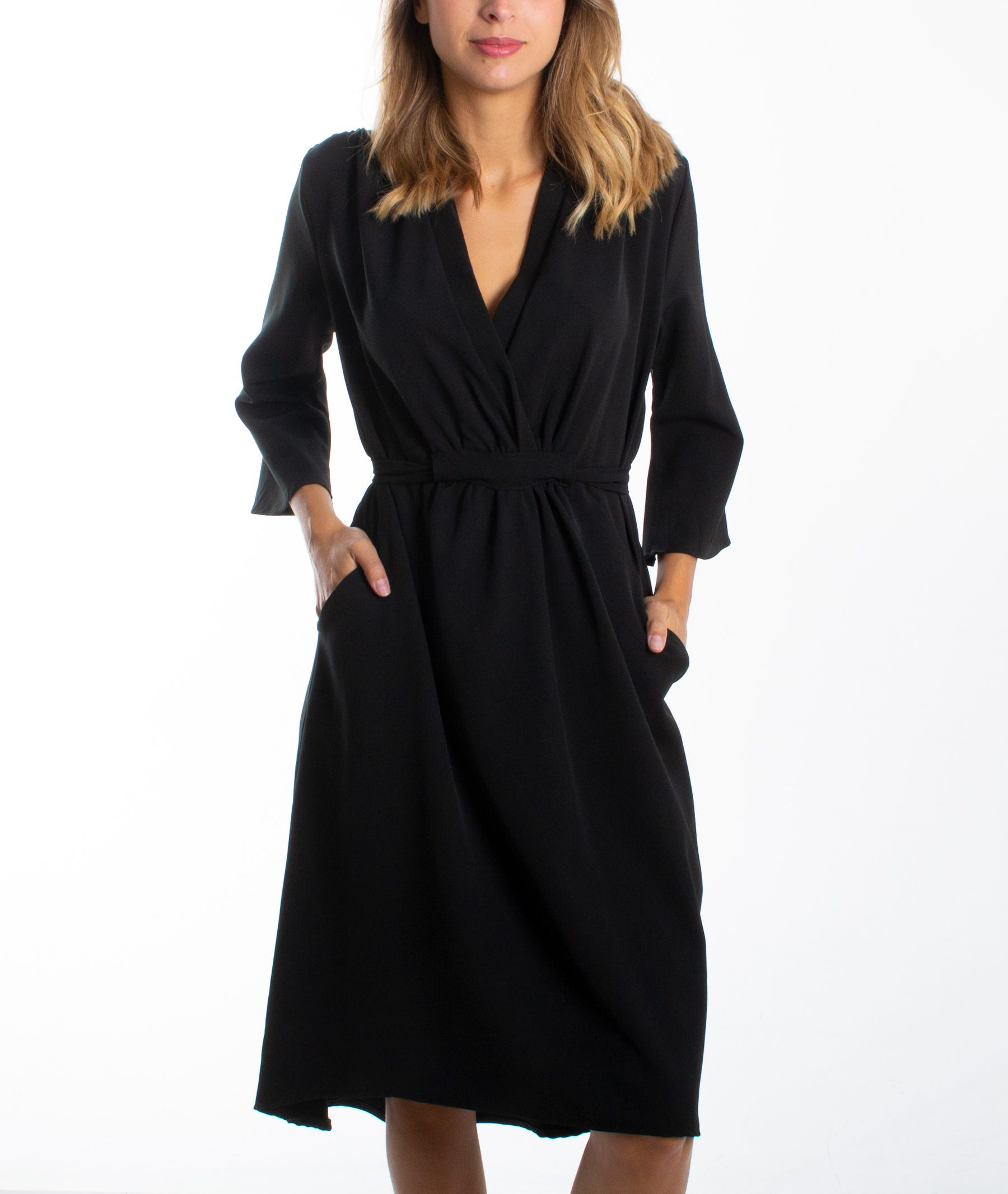 robe noire Carnaby mode pour femmes